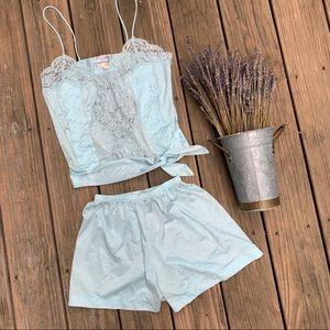 Vintage 60s Lily of France Lingerie Pajama Set